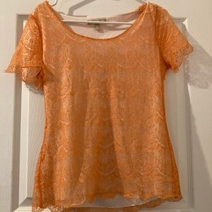 Lacey orange banana shirt!!